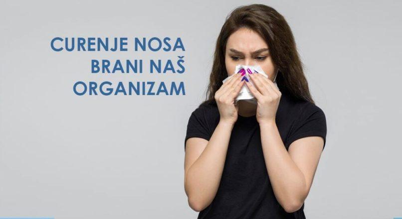 Zašto nam curi nos?