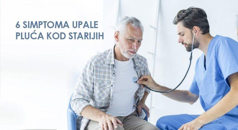 Kako prepoznati prve simptome upale pluća kod starijih?